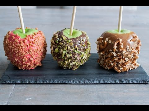Caramel and chocolate apples recipe- 4 Mins or Less Recipes
