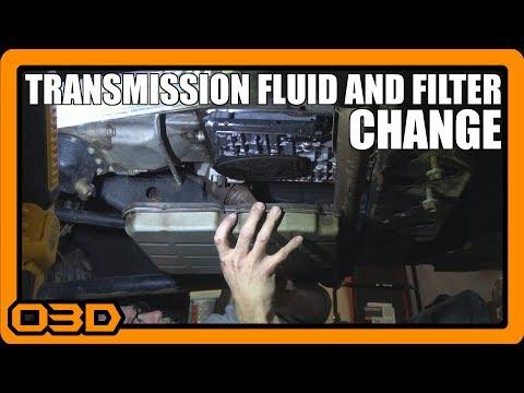 Transmission Fluid and Filter Change - Jeep Wrangler JK - W5A580 - 60,000 Mile Service - Topsider