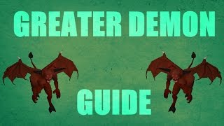 New Greater Demons Slayer Dungeon Task Cannon Guide