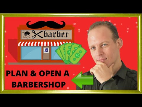 How to write a business plan and open a barbershop vs opening a mobile barber service
