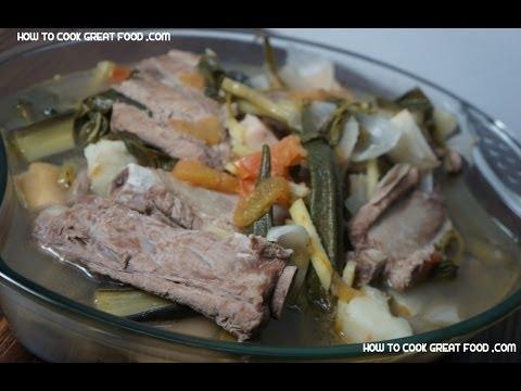 Sinigang sa Bayabas - Baboy Pinoy Pork Tagalog