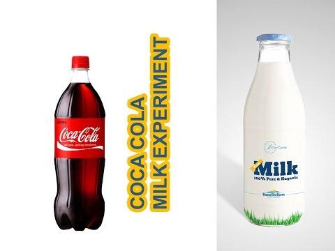 Coke and Milk Experiment