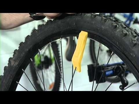 How to remove a bike's inner tube