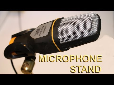 Custom Microphone Stand, Cast iron, Brass and steel on Grizzly G4000 lathe