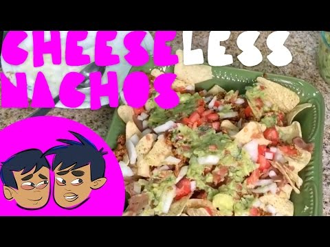 How To Make Nachos Without Cheese Video (Budding Foodies)