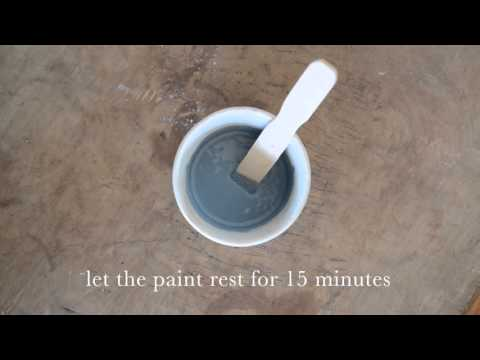 how to mix milk paint | miss mustard seed