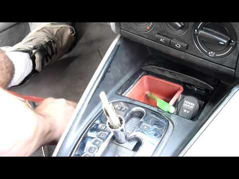 Volkswagen Jetta, Automatic Transmission Shift Knob R&R