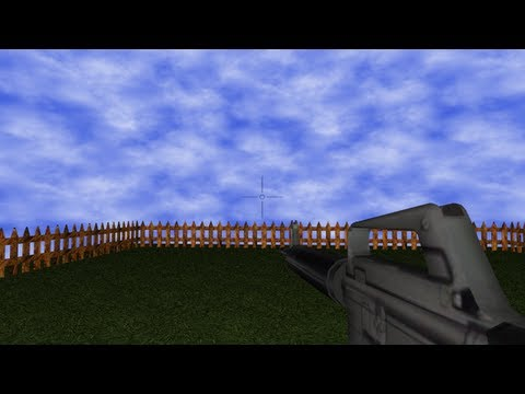 GM:Studio Tutorial 3D Gun FPS