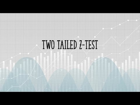 Two tailed Z Test