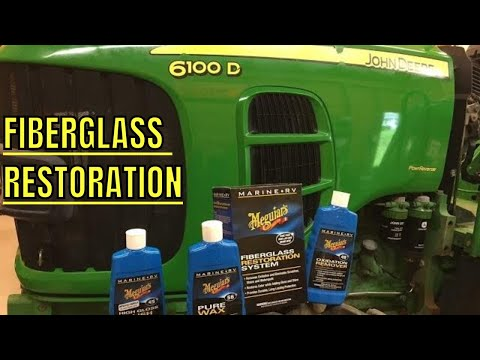 FIBERGLASS RESTORATION SYSTEM BRING BACK THE SHINE