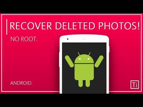 How To Recover Deleted Photos in Android! [NO ROOT]