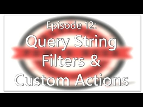 SharePoint Power Hour Episode 12: Query String Filter & Custom Actions in SPD!