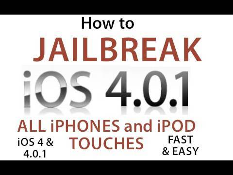How to Jailbreak and Unlock Your iPhone or iPod Touch in 30 Seconds ( iOS 4.0 or iOS 4.0.1 )