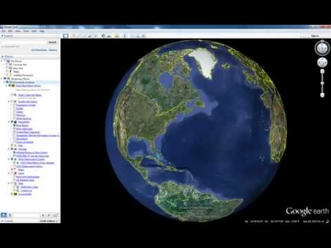 How to: Import Gold Map Maker to your Google Earth Places