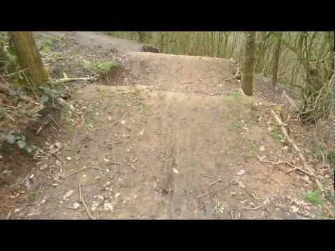 New BMX Track in Woods.