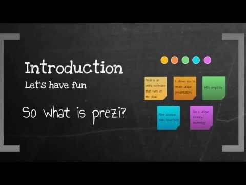 How to create a prezi - Turn your prezi into a masterpiece! Video 1