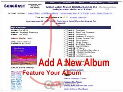 HOW TO GET YOUR MUSIC ON  ITUNES AMAZON & MP3.com   IN 2 EASY STEPS