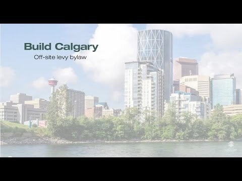 Off-Site Levy Bylaw - Build Calgary