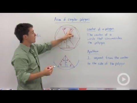 Center and Apothem of Regular Polygons