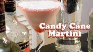 http://www.thefndc.com/candy-cane-cocktail-recipe/ One of the most popular drinks we have ever done is the Candy Cane Martini. Built with creme de menthe, peppermint schnapps, half and half, creme de cacao, grenadine, candy cane chunks, and vanilla vodka, this drink tastes exactly like a candy cane. Guaranteed to bring back the holiday spirit.   Subscribe to our YouTube channel: http://www.youtube.com/subscription_center?add_user=theFNDCdotcom  Website: http://www.thefndc.com http://feeds.feedburner.com/Thefndc/  Get Social: http://www.facebook.com/theFNDC http://twitter.com/theFNDC https://plus.google.com/u/0/117590176927241906701  We have T-shirts: http://thefndc.spreadshirt.com/  Happy Drinking~!  CANDY CANE MARTINI ===================== 2 oz vanilla vodka ½ oz creme de cacao ½ oz peppermint schnapps 1 oz creme de menthe 3 oz half and half ½ oz grenadine Crushed candy canes  Music: Rise of Djinn (JD Shroudie) /  Royalty Free Music by http://audiomicro.com/royalty-free-music