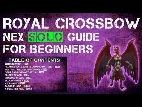 A complete guide to Soloing Nex for Beginners | Runescape 3