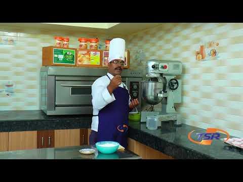 How to make cherry cup cake   Margarine cake recipe