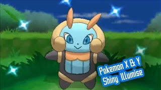 Days of Old Shiny 6 - Pokemon X Shiny Illumise 42 Chain