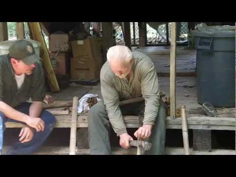 How to Make a Bamboo Fire Saw for Wilderness Survival, Friction Fire Making