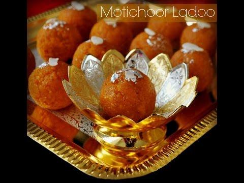 motichoor ladoo (motichur Laddu) recipe with tips & secrets revealed to make perfect laddu