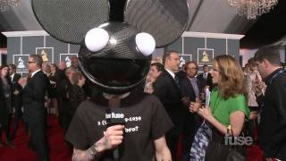 Download Deadmau5 on the Grammy Red Carpet Video