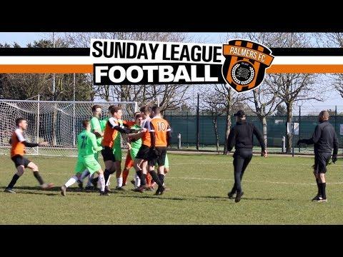 Sunday League Football - SEMI FINAL BUST UP