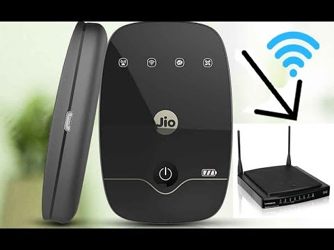 How to connect JioFi/Mobile Hotspot with WiFi Router Using WDS  [Hindi]
