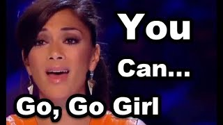 """JUDGES """"Try to HELP Her"""" and Sing With Her - Did She Make It? Tamera Foster - I Have Nothing"""