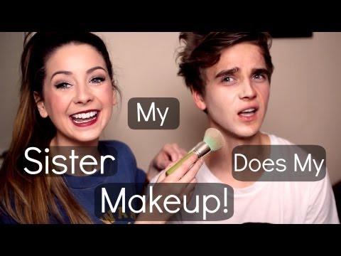 My Sister Does My Make up | ThatcherJoe