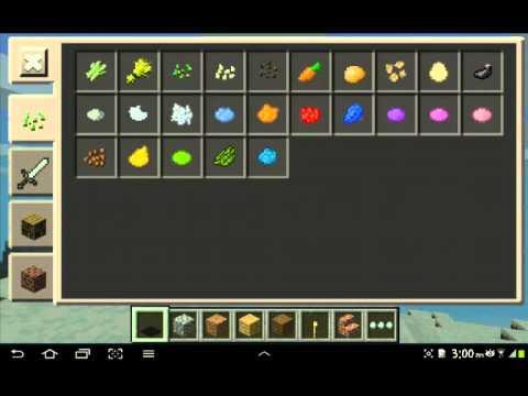 Minecraft pe inventory update
