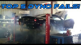 Top 5 Worst Dyno Fails COMPILATION!   [2014]