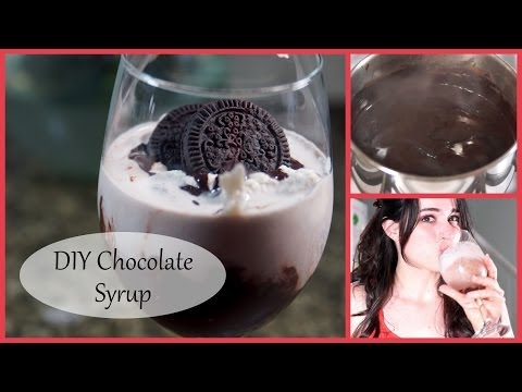How to Make Chocolate Syrup & a Cookies and Cream Milkshake!  | Jenny Lynne