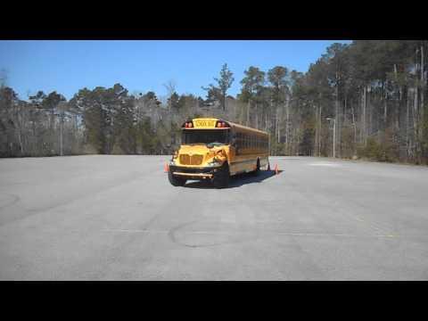 43. Skills – Offset Backing – Class B CDL School Bus