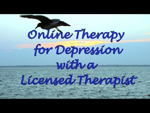 Online Therapy for Depression with a Licensed Therapist