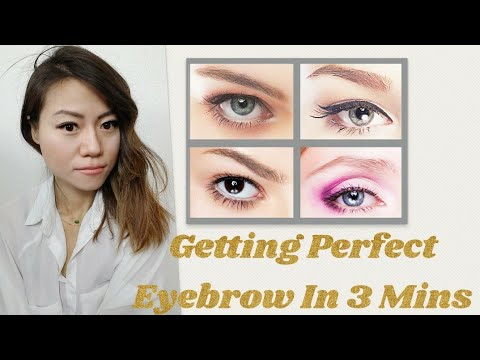 Easy Guide To Shape Perfect Natural Eyebrow For Your Face | Eyebrow hacks