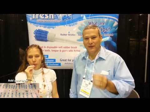 Fresh Tips Breath Freshener Promotional Poduct