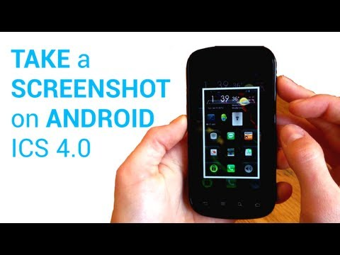 How to take a screenshot on android Ice Cream Sandwich 4.0 (NO ROOT) quick and easy