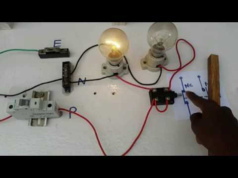 how to work limit switch,how to connect limit switch in Tamil & English