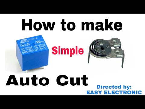 How to make Simple Auto cut off 12 volt battery charger