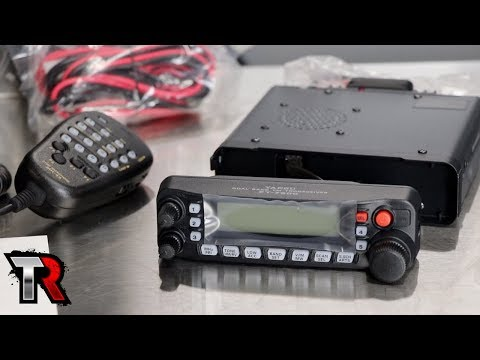 Mobile HAM Radio Install in a Jeep Wrangler