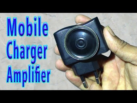 How To Make Mobile Charger Amplifier Easily