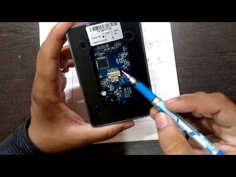 Access Control System Stand Alone Card with Password SA 32 connection and configuration