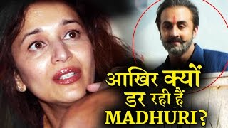 Why Madhuri Scared Of Sanjay Dutt
