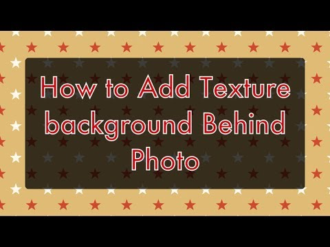 How to Add Texture Background Behind Photo in Instagram