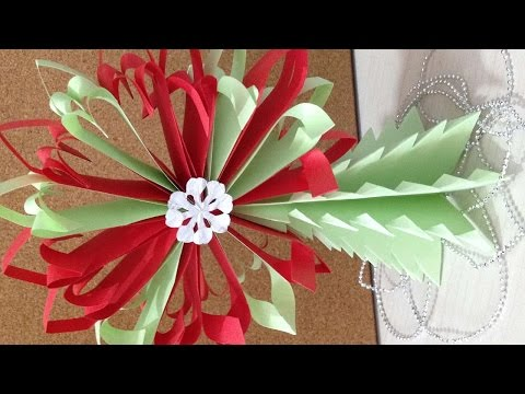 How To Make A 3D Snowflake - DIY Crafts Tutorial - Guidecentral